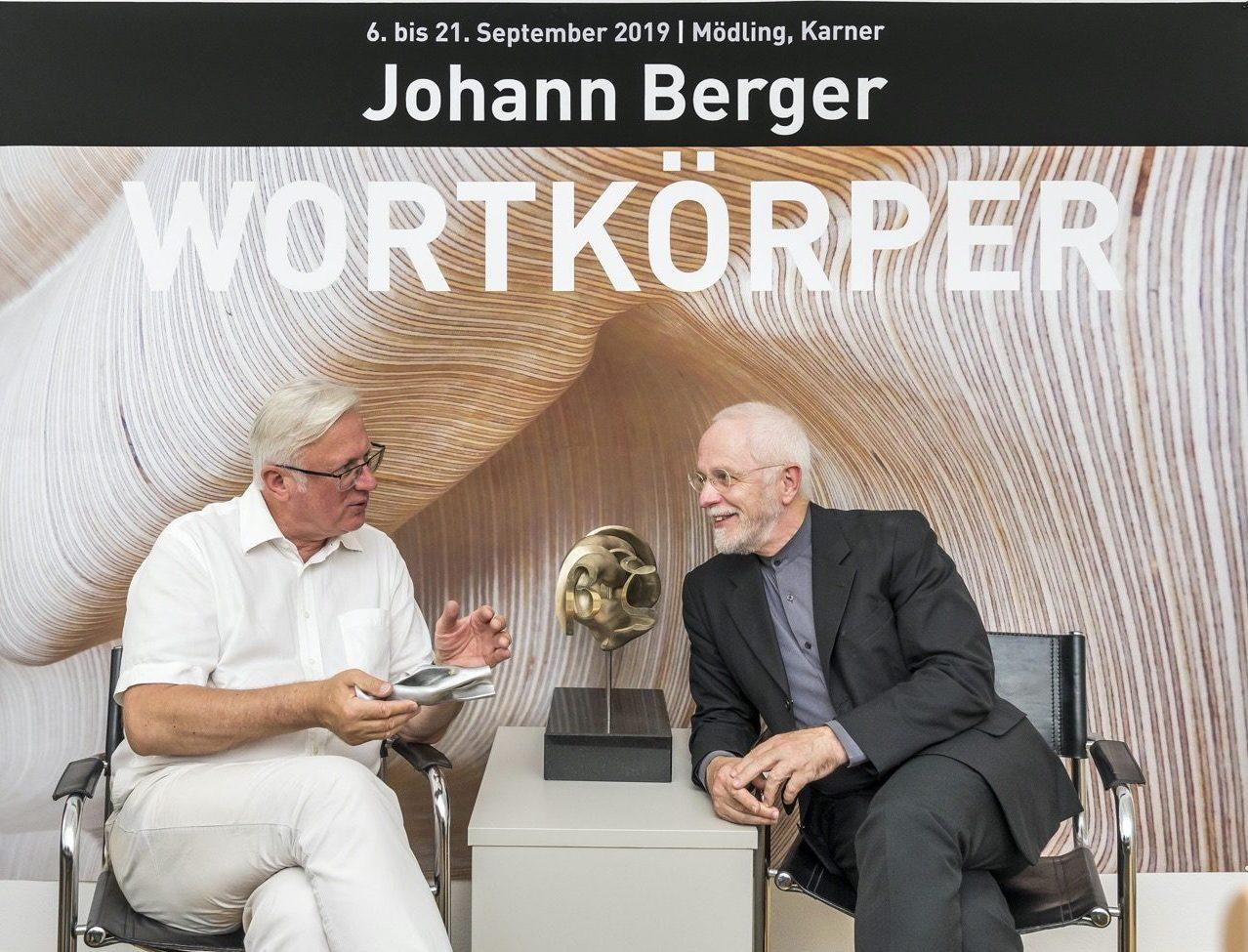 Johann Berger - Wortkörper im Karner 2019